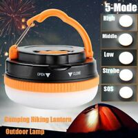 Portable Hanging LED Camping Tent Light Bulb Fishing Lantern Lamp Outdoor Hiking