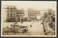 Postcard Cairo Egypt Africa the Opera Square and Continental Savoy Hotel RP