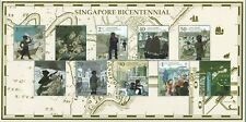Singapore 2019 S'Pore Bicentennial Special Collector'S Sheet Of 10 Stamps Mint