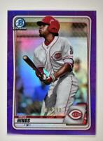 2020 Bowman Chrome Prospects I Purple Refractor #BCP-41 Rece Hinds  /250