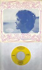 DONOVAN  Lalena / Aye My Love  original 45 with PicSleeve from 1968