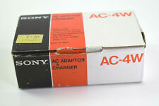 Original Sony Cassette-Corder AC-4W AC Adaptor and Charger With Box