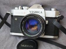 Yashica TL Electro X & Yashinon DS-M 50mm 1.4 M42