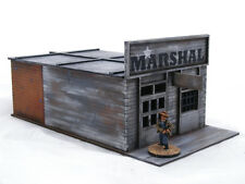 Old West Cowboy Western Town – 6 bâtiments plus Corral Pack 25 mm, 28 mm Terrain