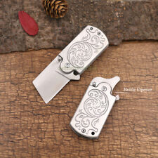 D2 Blade Folding Knife Outdoor Camping Tactical EDC Tools Bottle Opener FB-3D2