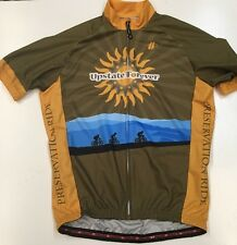 Hincapie Cycling Medium 100% Polyester Cycling Jersey Upstate Forever Preservati