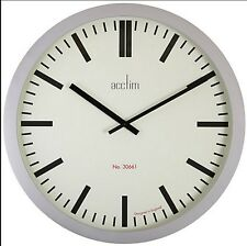 90 cm Huge Acctim 21957 Monument Large Station Style Wall Clock Factory Office