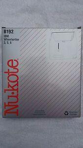 Nukote  8mm x 400 M IBM Wheelwriter 3-5-6  Black Correctable Film  B192