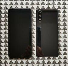 Genuine BLACK Huawei P30 ELE-L09 LCD DISPLAY TOUCH SCREEN FRAME AMOLED COVER