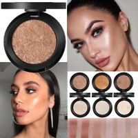 Beauty Face Powder Highlighter Bronzer Makeup Contour Palette Powder Glow Hot