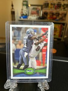 2012 Topps Kam Chancellor Rookie Card #157