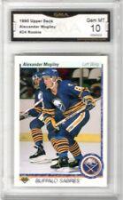 1990-91 Upper Deck #24 Alexander Mogilny RC | Graded GEM MT 10 | Buffalo Sabres