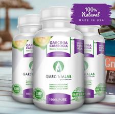 3Pack 80% HCA Garcinia Cambogia 100% Pure Weight Loss Aid Capsules 100% Natural
