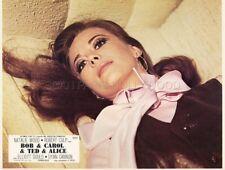NATALIE WOOD  BOB & CAROL & TED & ALICE 1969 VINTAGE LOBBY CARD #20