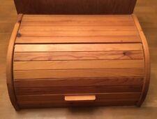 IKEA Magasin Wooden Pine Bread Bin Box with Roll Top Food Storage 669.143.00 EUC