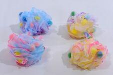 1 Large Scrubber Sponge Flower Exfoliating Body Brush Puff Bath Shower Mesh Ball