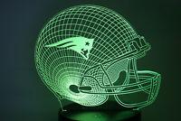 New England Patriots Tom Brady Rob Gronkowski Julian Edelman LED Lamp Gift