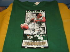 Rajon Rondo #9 Boston Celtics Nba Basketball Green Ticket T-Shirt New Nwt Xxl 2X