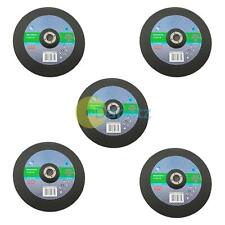 "5 x High Quality 230mm 9"" inch Metal Cutting Discs for Angle Grinder"