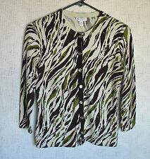 CHARTER CLUB PETITE 3/4 Sleeve Button Cardigan , Size P/P