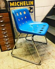 HILLE ROBIN DAY BLUE POLO CHAIR RARE MID CENTRY CLASSIC DESIGN