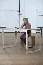 Sibis Sirch VACLAV Holz + rot Schreibtisch Kinder 6 Jahre - Erwachsenenalter