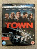 The Town (4K Ultra HD + Blu-ray) import  region free Ben Affleck new sealed