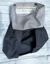 Graco Pack N Play Net Diaper Pocket Caddy Pop Stud Snap Attachment Gray Black