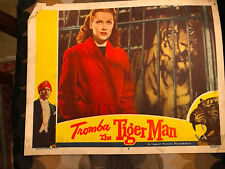 Tromba The Tiger Man 1952 Lippert German lobby card Angelika Hauff Rene Deitgen