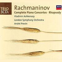 Vladimir Ashkenazy - Rachmaninov Complete Piano Concertos Rhapsody [CD]