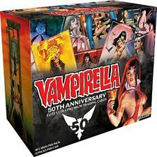 VAMPIRELLA 50TH ANNIVERSARY ELITE PREMIUM TRADING CARDS - DISPLAY BOX OF 12...