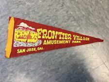 Frontier Village Amusement Park San Jose mini pennant