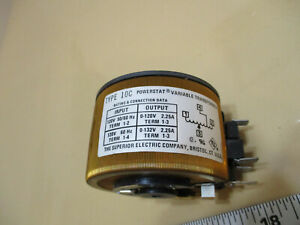 Powerstat Variable Transformer (Type 10C)