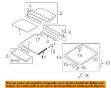 VOLVO OEM 10-17 XC60 Sunroof-Front Molding Left 31352860