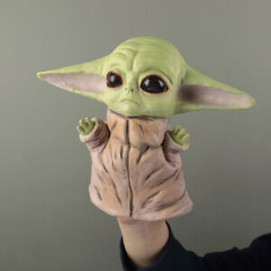 Star Wars The Mandalorian Baby Yoda Hand Puppet Soft Kids Toy Gloves Fancy Props