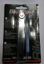 BIKEMASTER # 15-1526 20 BLADE METRIC TAPPET FEELER GAUGE SET