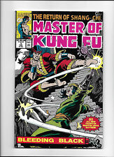 "MASTER OF KUNG FU #1  [1990 VG+]  ""BLEEDING BLACK"""