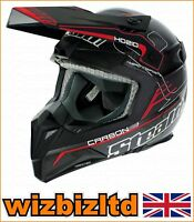 STEALTH HD210 PRO ORIGINALE CARBON ROSSO GRAFICA S sth153s