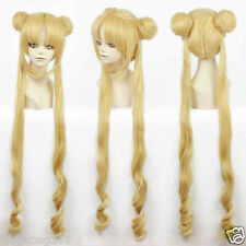 Girl Sailor Moon Cosplay Costumes Wig Tsukino Usagi And Princess Serenity wig