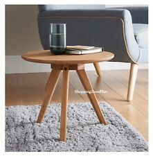 SOLID OAK LAMP TEA COFFEE PAPER SIDE TABLE HOME OFFICE WORK ROOM TABLE FURNITURE