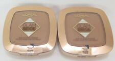 L'Oreal Glam Beige Healthy Glow Powder *Medium Dark*Twin Pack*
