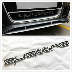 Embleme AUDI QUATTRO calandre front grille AUDI A4 A5 A6 A7 RS5 RS6 RS7 RS Q3