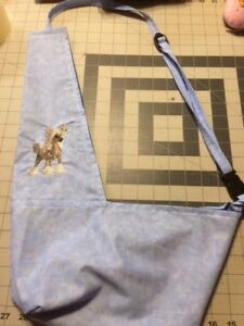 Embroidered Any Breed Puppy Shoulder Bag Carrier Dog Pet Carols Crate Covers