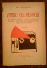 CALISTO BIANCHI - VERNICI CELLULOSICHE ,1929