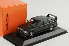 Mercedes-Benz 190E 2.5-16 Evo2 1990 black-metallic 1:43 Minichamps Maxichamps
