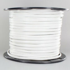 WHITE ~ Lamp Cord ~ 2 Wire ~ 18 gauge { 250 Ft. Roll } for Parts & Repair by PLD