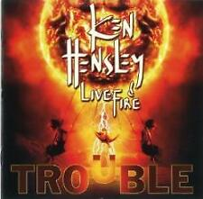 Ken Hensley & And Live Fire - Trouble (NEW CD)