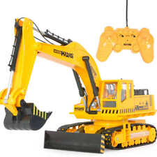 14 Channel Full Functional 1:18 Remote Control Excavator Truck Toy for Kids