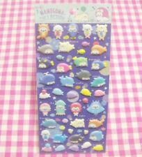 San-X Mamegoma Aquarium Sticker Sheet / Japan 2018  Cute Seal Stationery