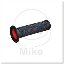 Grips Black/red d.22mm. l.122mm CLOSED 717.02 poignée caoutchouc sw/rt NEUF